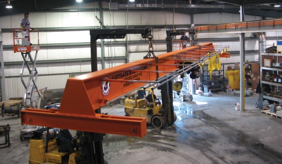 Single Girder Top Running