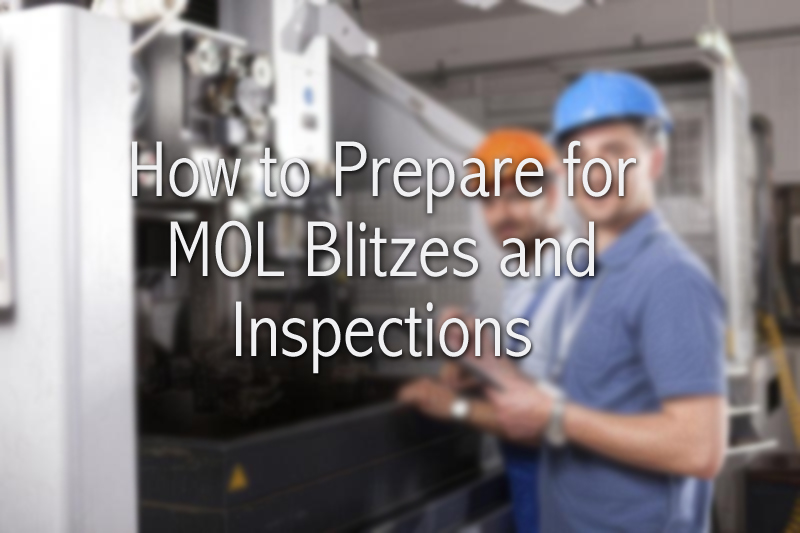 Why Being Pro-Active is the Best Way to Deal With MOL Blitzes