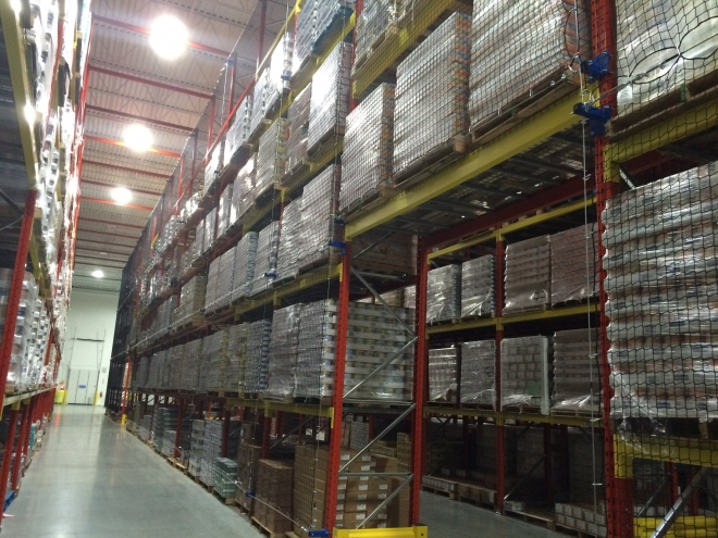 The Importance of Securing Product in Pallet Rack Bays